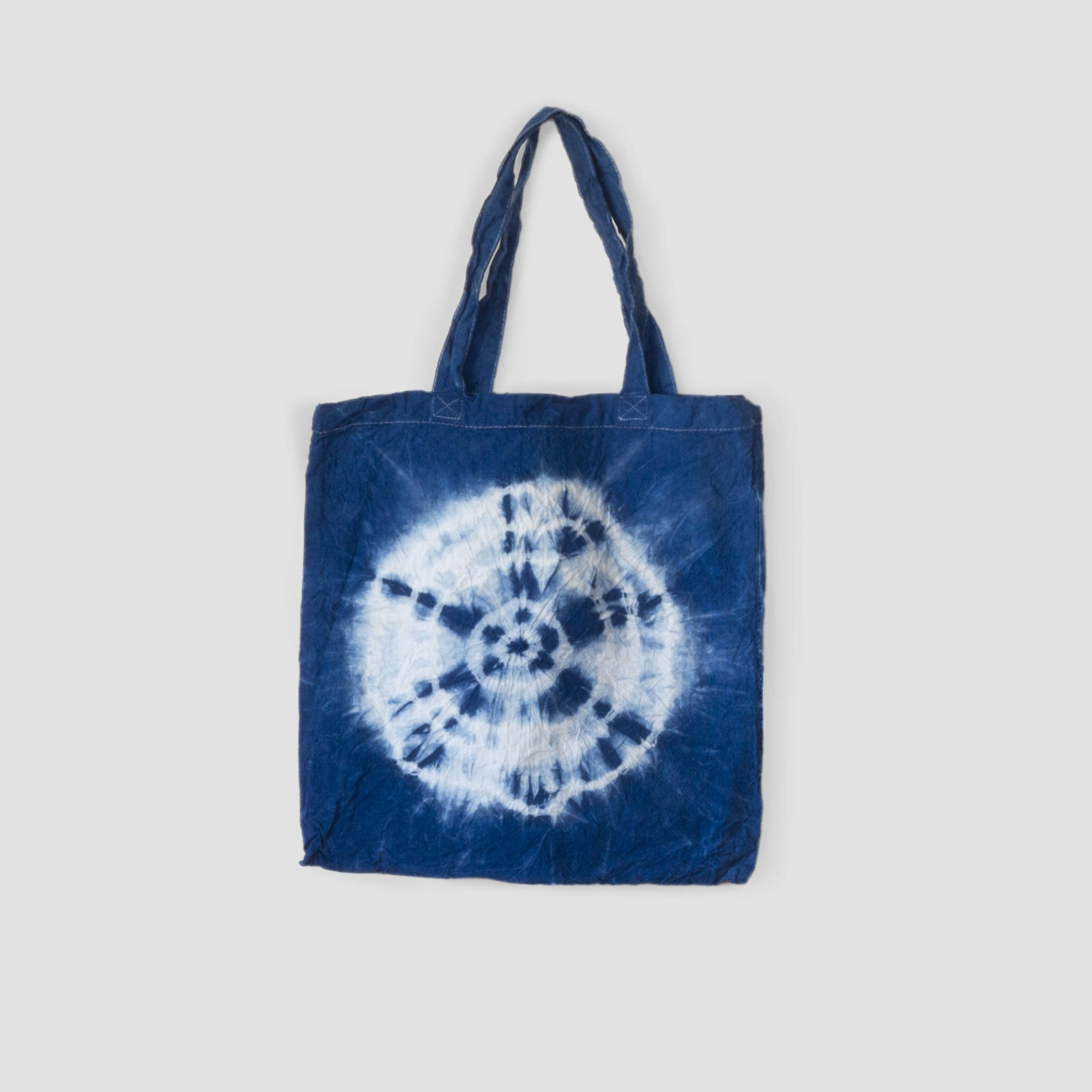 Indigo tote bag full moon
